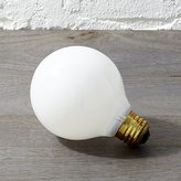 CB2 frosted 40W light bulb