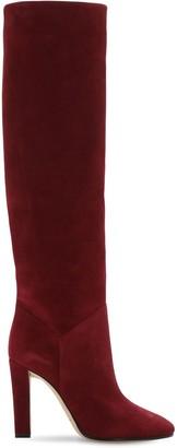 Alberta Ferretti 100mm Suede Tall Boots