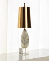 John-Richard Collection John Richard Collection Multifaceted Alabaster Lamp