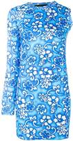 DSQUARED2 printed one sleeve dress