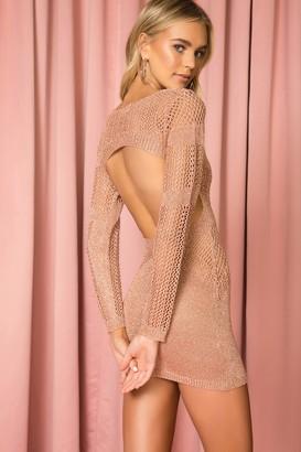 superdown Nuri Crochet Mini Dress