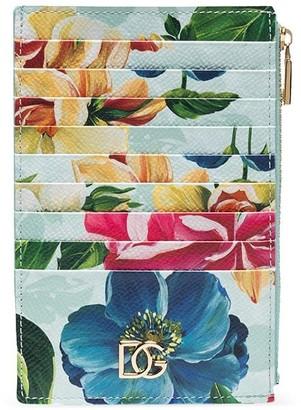 Dolce & Gabbana Floral-Print Wallet