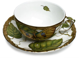 Anna Weatherley Exotic Butterfly Teacup
