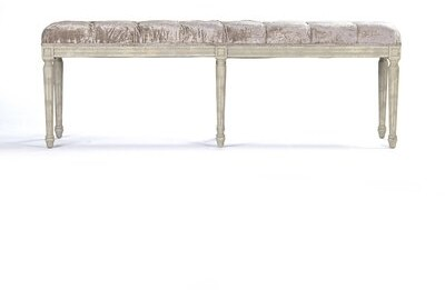 Zentique Louie Upholstered Bench Shopstyle