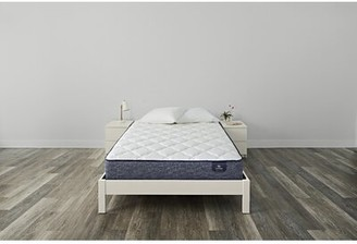 "Serta SleepTrue 10.5"" Malloy Plush Innerspring Mattress and Box Spring Mattress Size: Twin, Box Spring Height: Standard Profile (9"")"