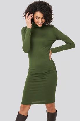 Trendyol High Neck Mini Dress