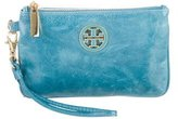 Tory Burch Leather Wristlet Wallet