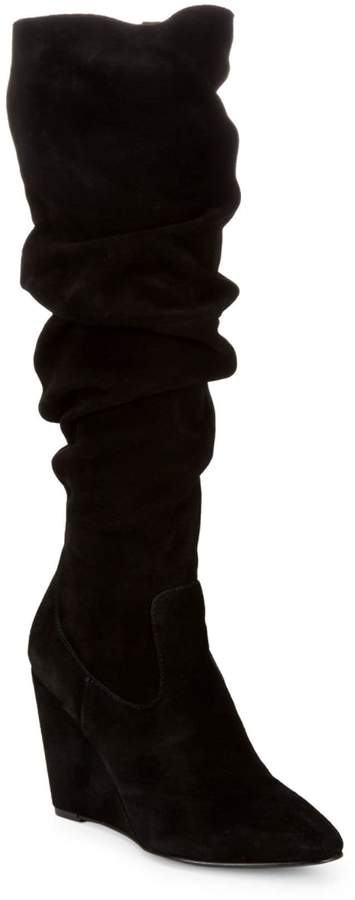 01a1080433a Samaya Suede Wedged Boots