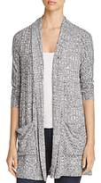 Design History Ribbed Crossover Cardigan