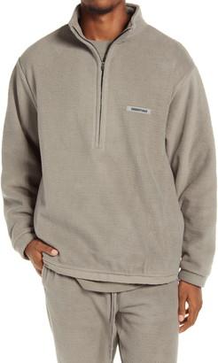 FEAR OF GOD ESSENTIALS Half Zip Fleece Pullover