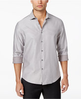 Alfani Men's Chevron Jacquard Shirt, Only at Macy's