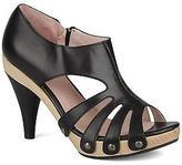 Mine de rien Women's Sandals in Black - 100% Leather - UK 6.5 / EU 40
