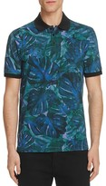 HUGO Dunnyvale Floral Slim Fit Polo Shirt - 100% Exclusive