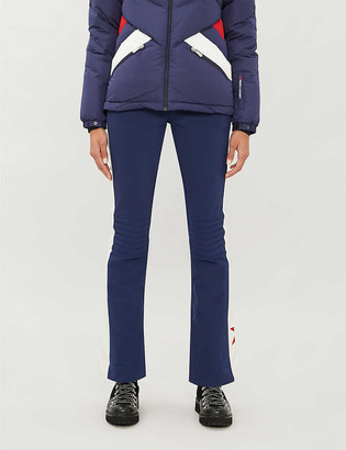Perfect Moment Aurora high-rise shell flared ski trousers