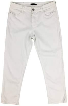 Prada White Cotton - elasthane Jeans