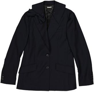 Miu Miu Navy Wool Jackets