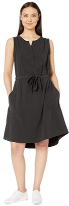Royal Robbins Spotless Traveler Tank Dress (Jet Black) Women's Dress