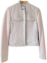 Alexander Wang Purple Leather Leather Jacket for Women