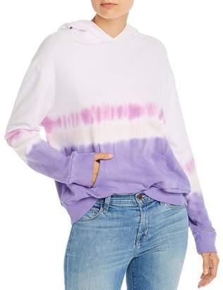 Monrow Dip-Dye Hooded Sweatshirt