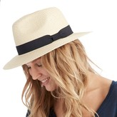 Sole Society Straw Panama Hat
