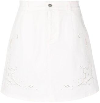 Stella McCartney Broderie Anglaise Short Skirt