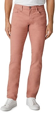 J Brand Kane Straight Fit Jeans in Dusty Salmon