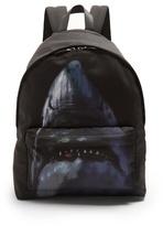 Givenchy Shark-print Canvas Backpack