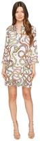 Just Cavalli Obsession Wonders Long Sleeve Shift Dress Women's Dress