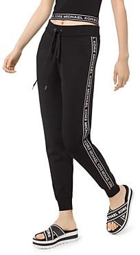 MICHAEL Michael Kors Logo Stripe Jogger Pants