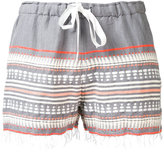 Lemlem striped shorts - women - Cotton - M