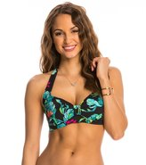 Seafolly Jungle Out There Halter Bikini Top (DD Cup) 8141515