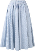 MAISON KITSUNÉ Estelle skirt - women - Cotton - XS