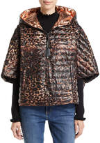 Think Royln The Heroine Quilted Floral Poncho