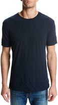 Vince Seamless Double-Layer Crewneck T-Shirt, Blue