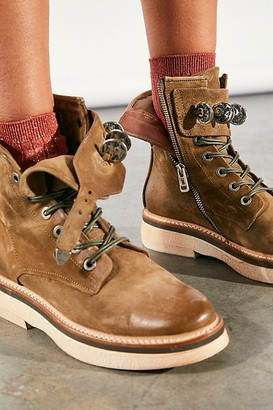 A.S.98 Lena Lace Up Ankle Boots