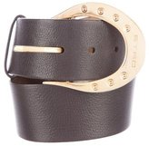 Etro Leather Buckle Belt