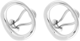 Charlotte Chesnais Naho silver clip-on earrings
