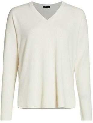 Theory Karenia V-Neck Cashmere Sweater