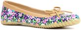Western Chief Navy Floral Fun Skimmer Duck Shoe