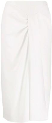 Roland Mouret Straight Midi Skirt