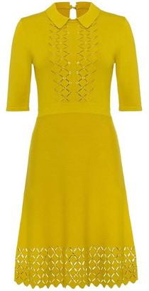 Damsel in a Dress Liona Eyelet Detail Knitted Dress