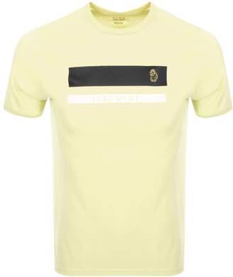 Luke 1977 Galway T Shirt Yellow