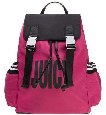Juicy Couture New Womens Juicy By Pink Kinney Backpack Polyester Backpacks