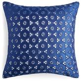"""Sky Eyelet Decorative Pillow, 16"""" x 16"""""""