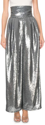 Marc Jacobs Runway) Shiny Sequin Dressy Trousers