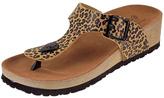 Orangeshine Leopard Buckle Sandal