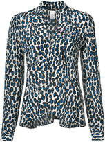 Derek Lam printed plunge top - women - Silk - 36