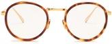 Linda Farrow Tortoiseshell round-frame glasses