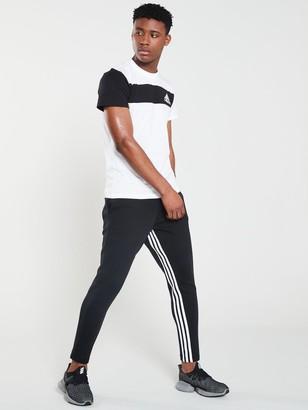 adidas Inside Leg 3 Stripe Pants - Black