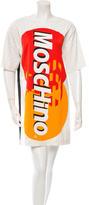 Moschino Logo Credit Card Dress w/ Tags